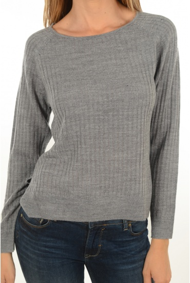 MARQUES ONLY: ROSE RIB L/S