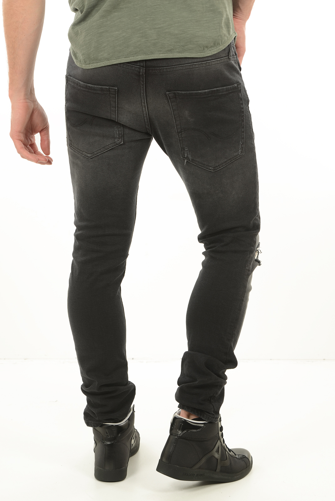 Jeans  Jack & Jones GLENN ORIGINAL JOS 168 BLACK