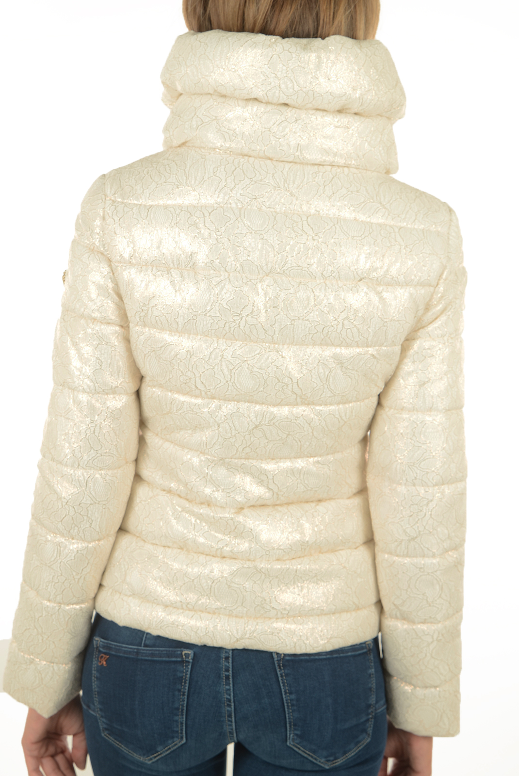 Blouson  Guess jeans W53L08W6NY0 PG03 BLANC