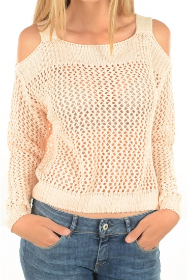NOISY MAY: MIMO L/S OPEN SHOULDER