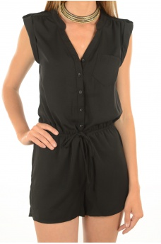 AZURE SL PLAYSUIT WVN - MARQUES ONLY