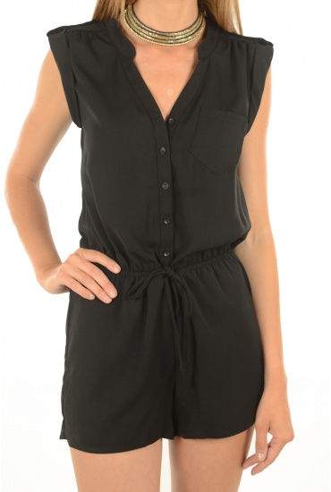 MARQUES ONLY: AZURE SL PLAYSUIT WVN