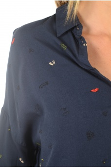 MARQUES ONLY: ZAFRAN L/S SHIRT DARE WVN