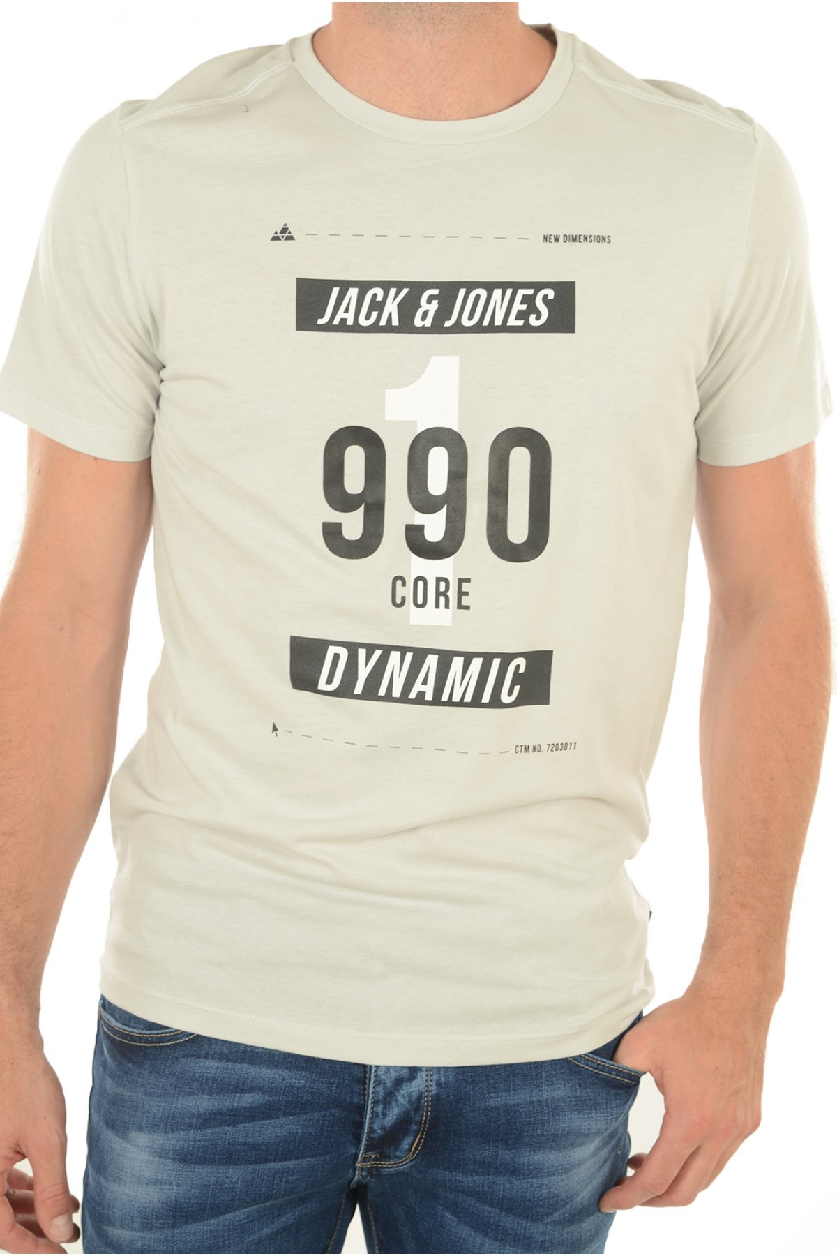 Tee-shirts manches courtes JACK & JONES