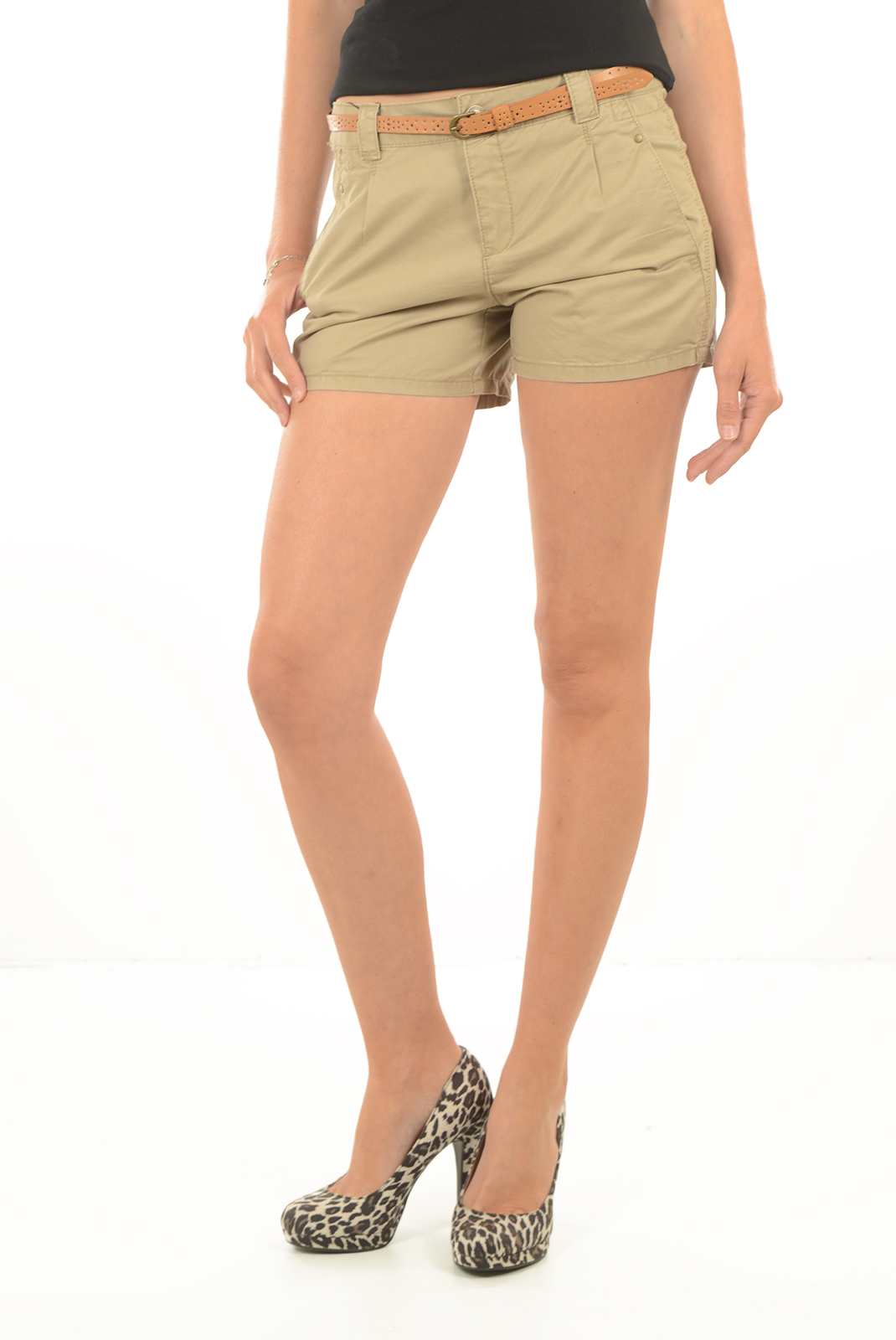 Shorts  Vero moda BONI NW SHORTS CLR NOOS SILVER MINK