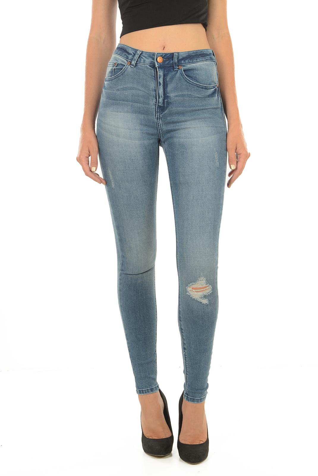 Jeans slim  Only PEARL HW MB JEANS DNM MEDIUM BLUE DENIM