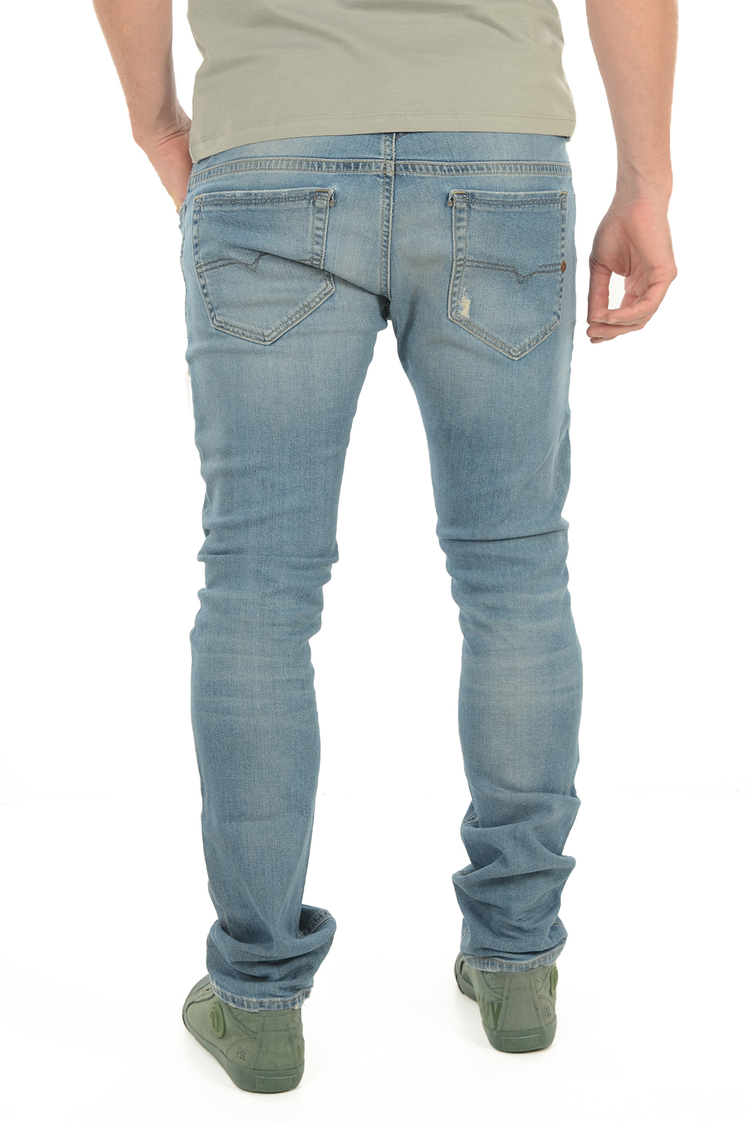 Jean slim / skinny  Diesel THAVAR 674Q BLEU