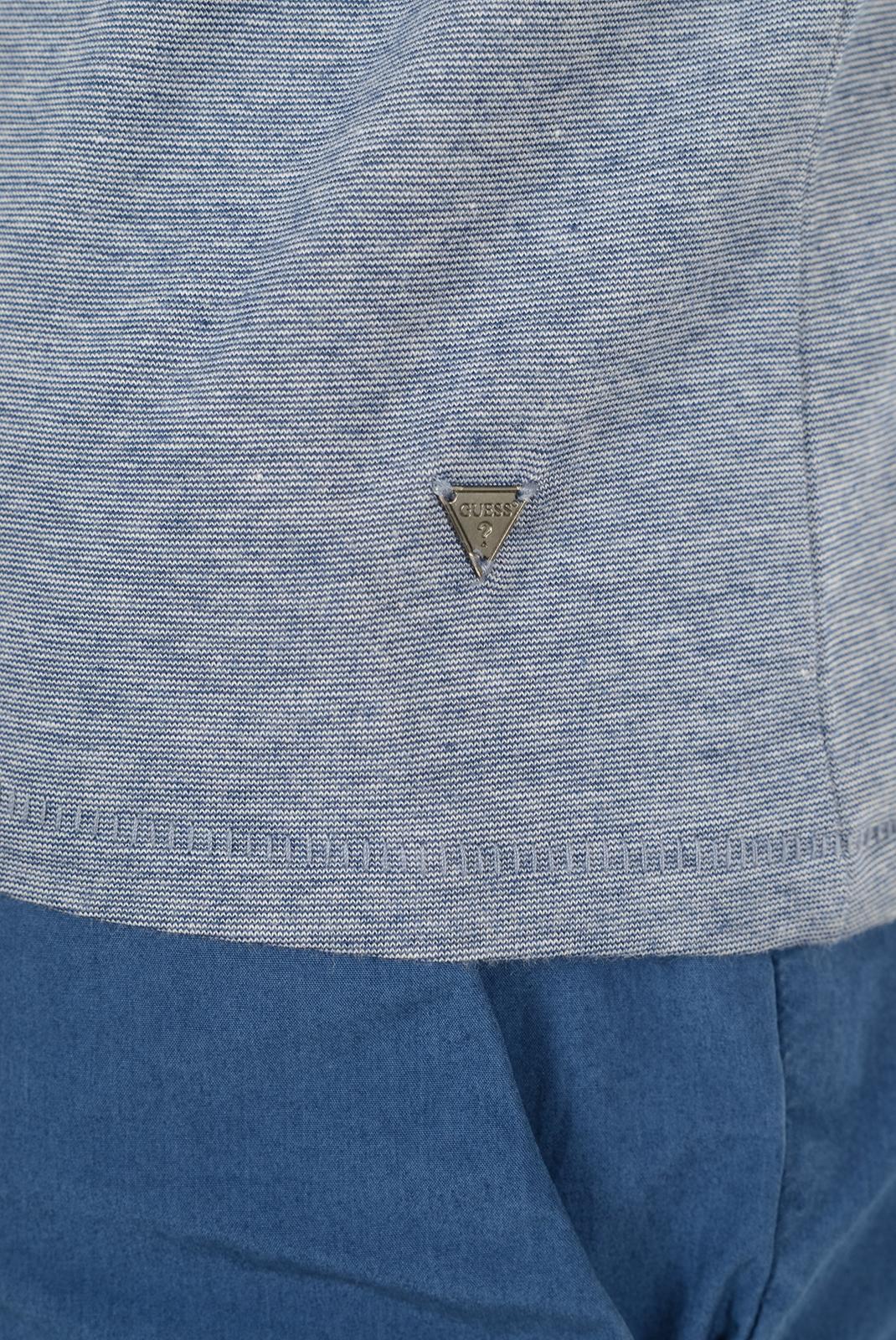 Tee-shirts  Guess jeans M72P48 K5HL0 SA74