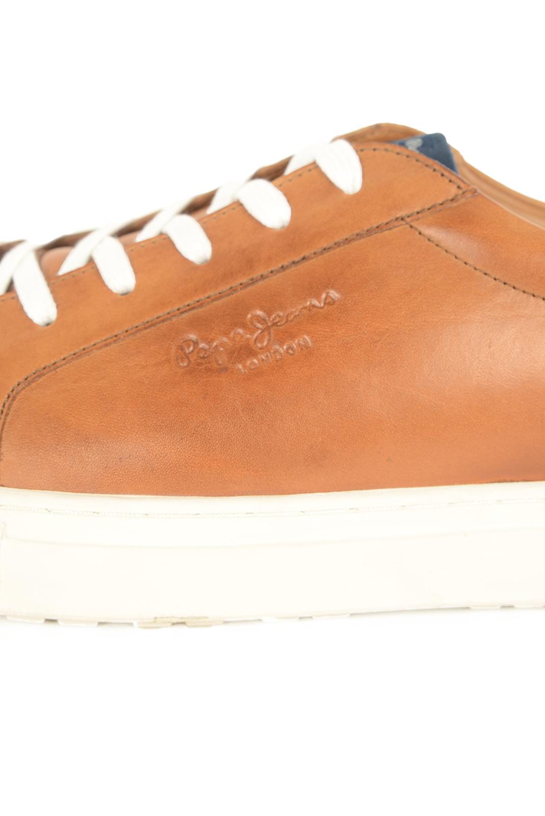 Chaussures de ville  Pepe jeans PMS30323 NORWICH LOW 859 TOBACCO