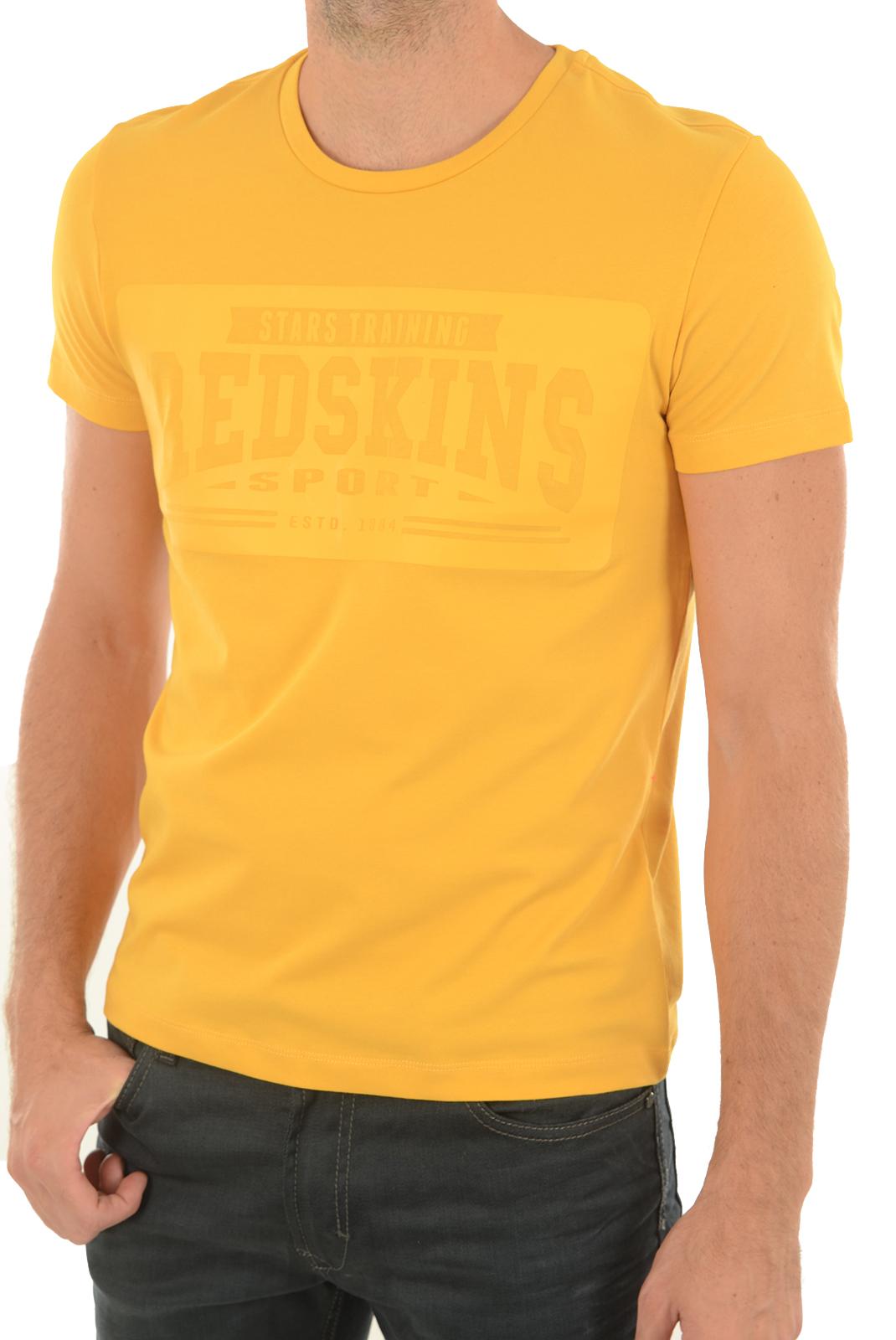 Tee-shirts  Redskins GRIM CALDER YELLOW GOLD