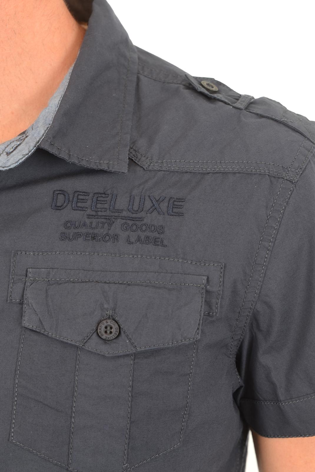 Chemises   Deeluxe SPARODRY NAVY