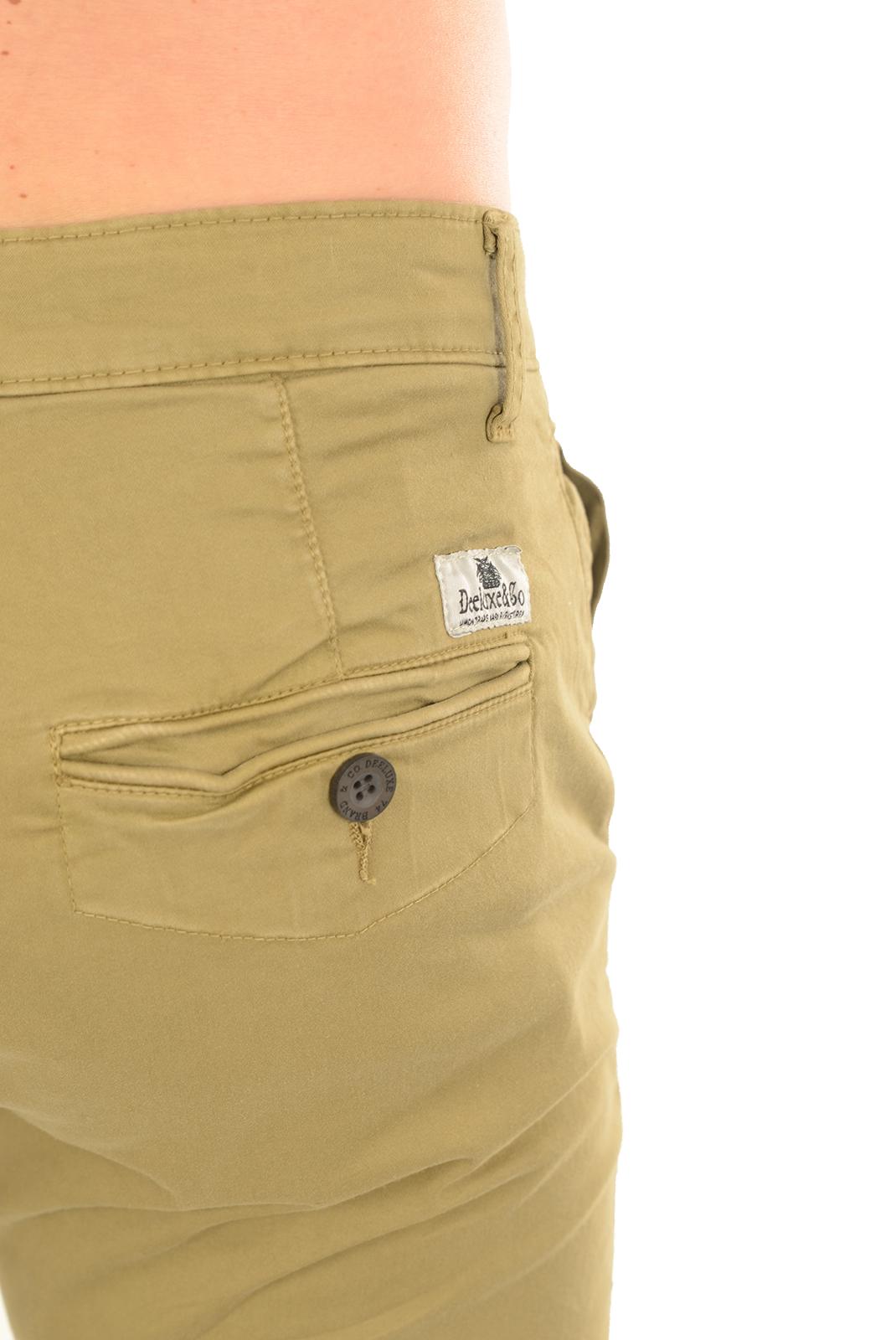 Pantalons chino/citadin  Deeluxe LAWSON S17 SAND