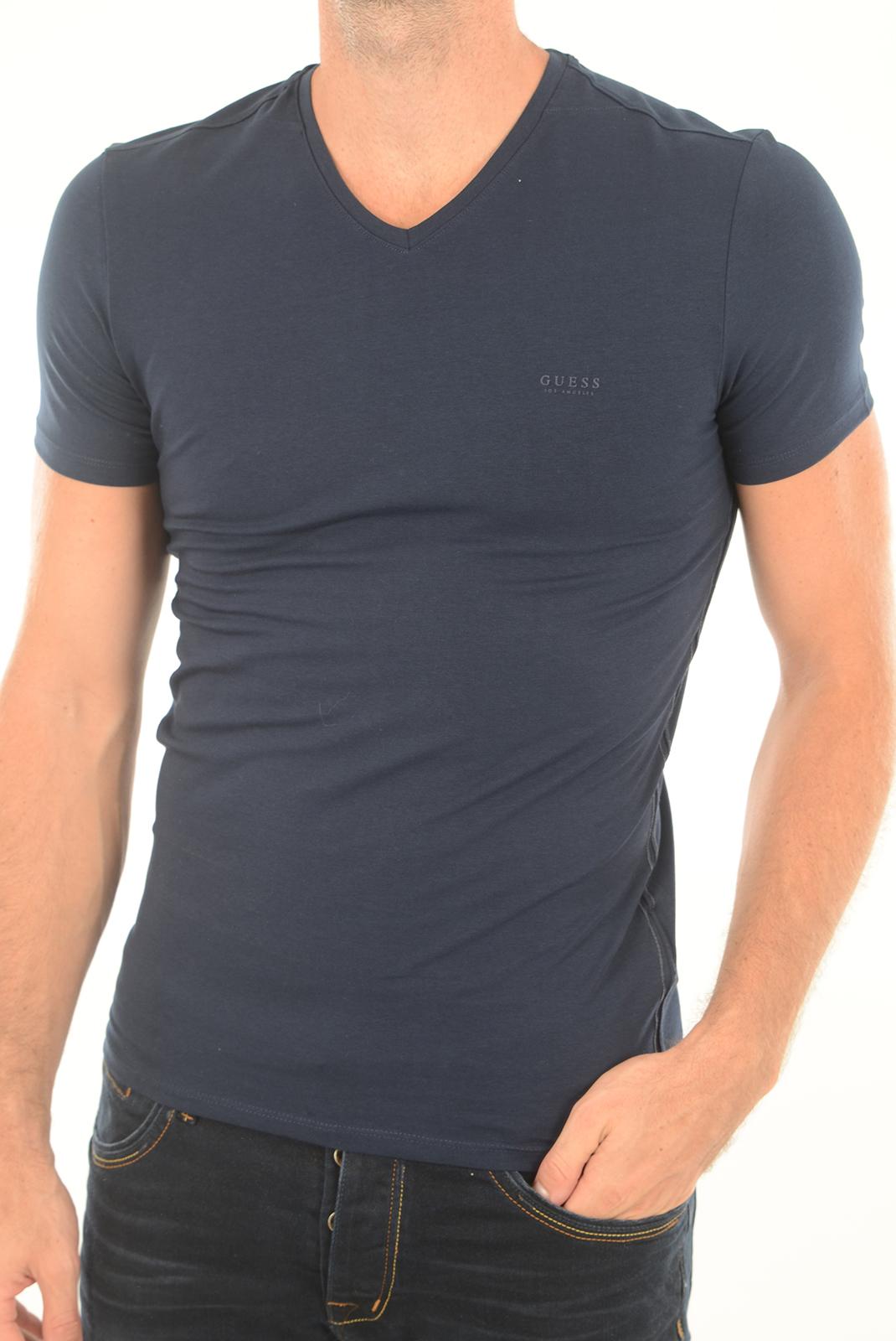 T-S manches courtes  Guess jeans M73I55 J1300 G720 BLEU