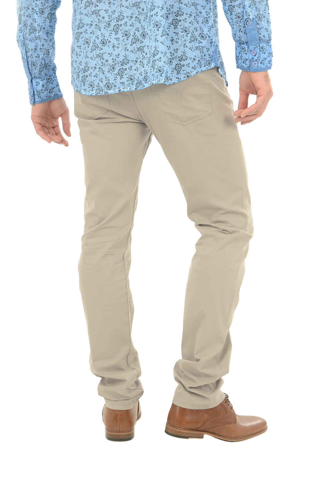 Pantalons chino/citadin  Lee cooper LC118ZP 7901 BEIGE