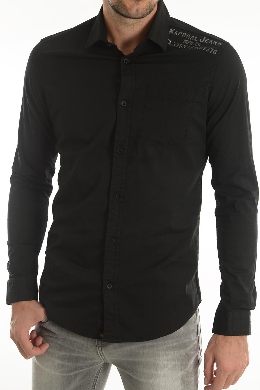 Chemises   Kaporal MIGO BLACK