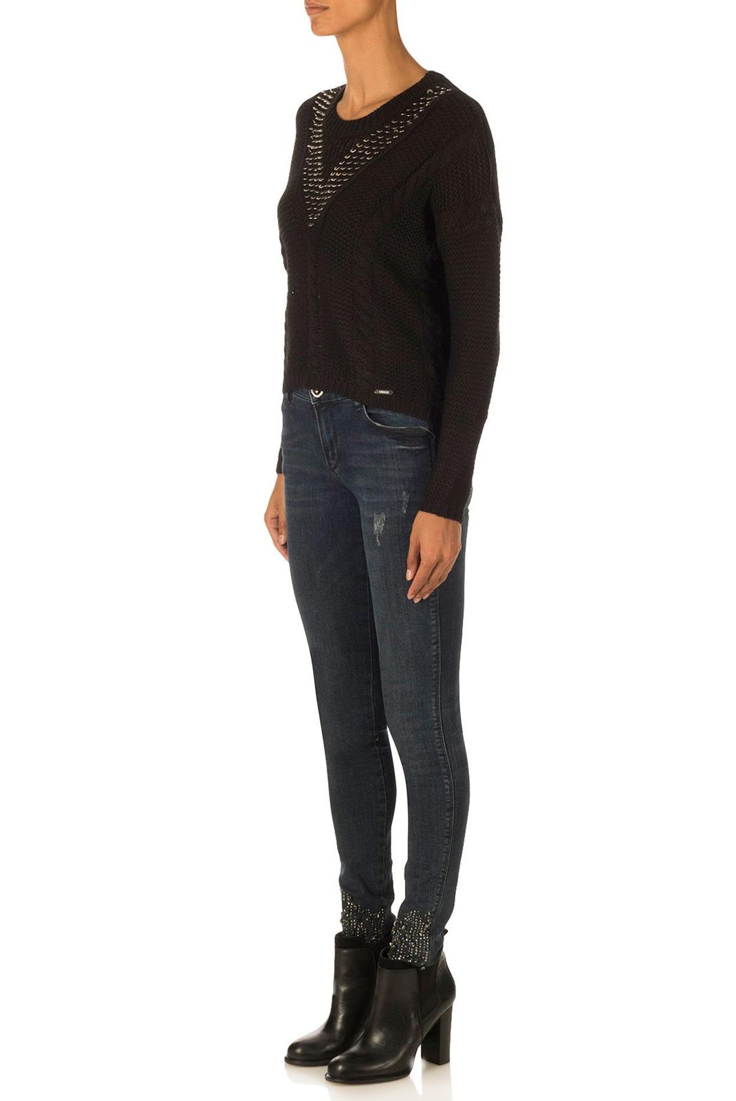 FEMME  Guess jeans W74R69 Z1OP0 A996 NOIR
