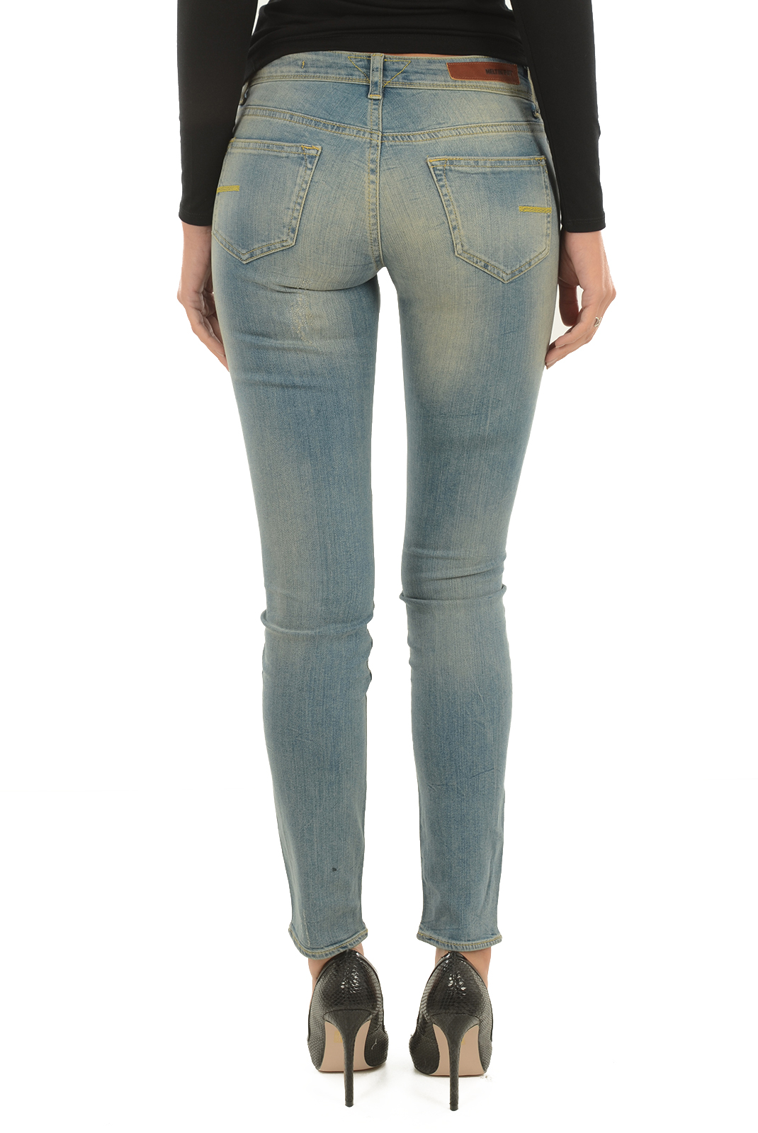 Jeans   Meltin'pot MARCELINE D1586 UP440 BS15 BLEU