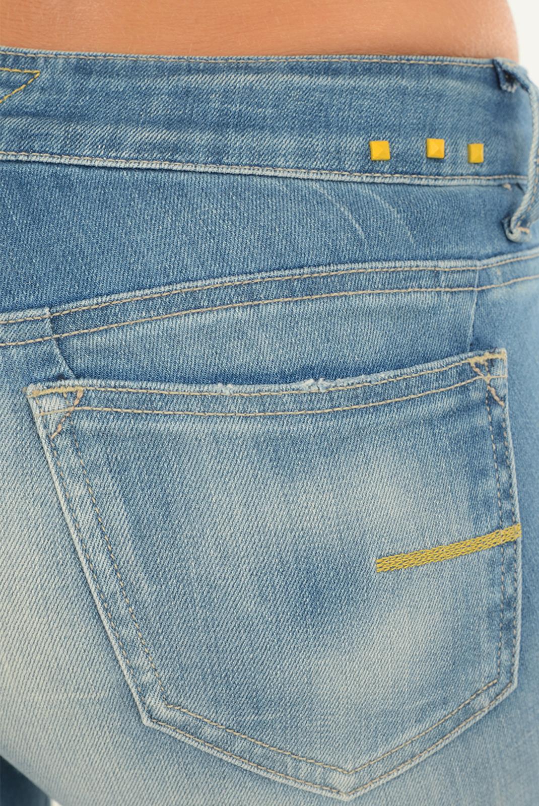 Jeans   Meltin'pot MAIA D1669 UB475 BS15 BLEU