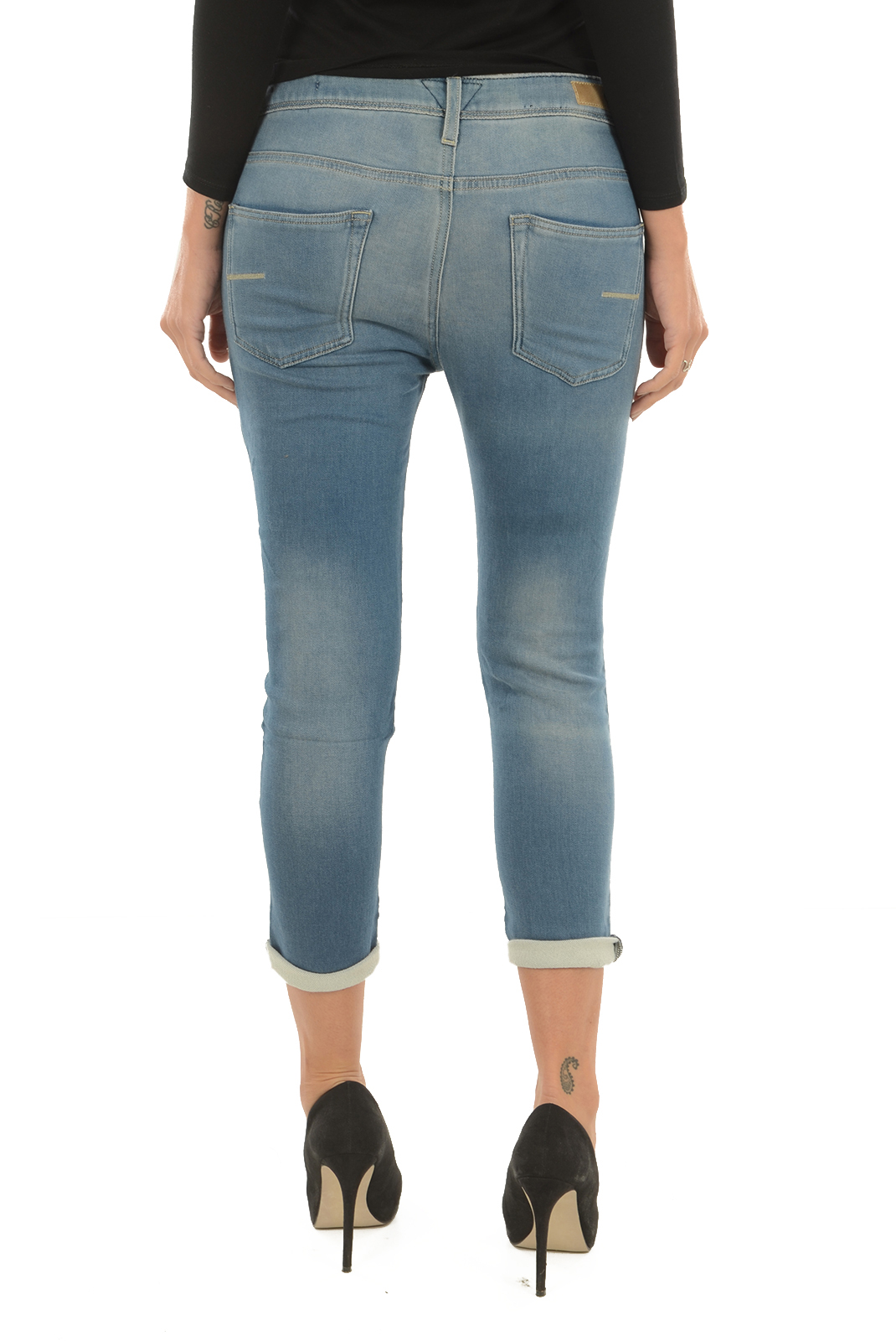 Jeans   Meltin'pot LEIA D1649 UH400 BS14 BLEU