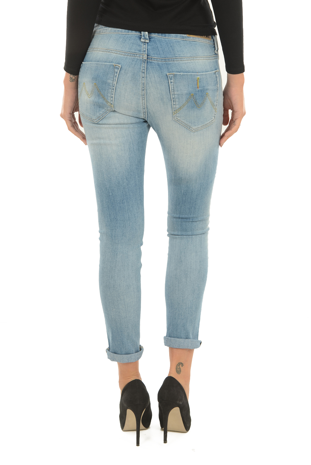 Jeans   Meltin'pot LAKITA D1669 UK420 BS16 BLEU