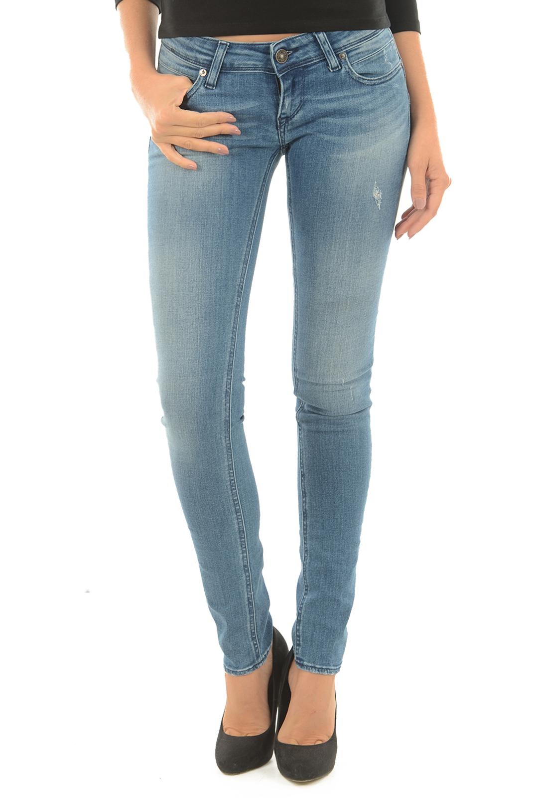 Jeans   Meltin'pot MONIE D1612 UK450 BF13 BLEU