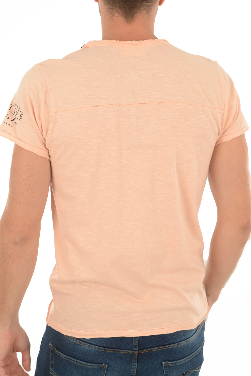 T-S manches courtes  Deeluxe COACHELLA TS LIGHT PINK