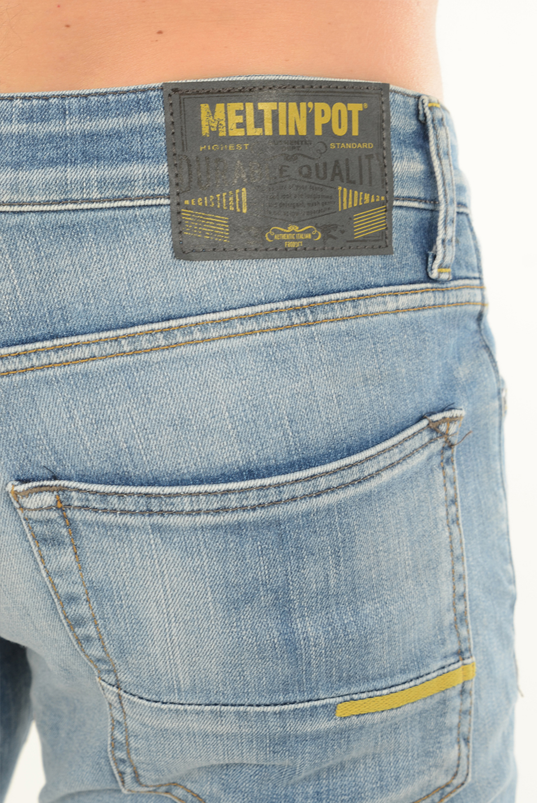 Jeans  Meltin'pot MANER D1577 UK510 BF17 BLEU