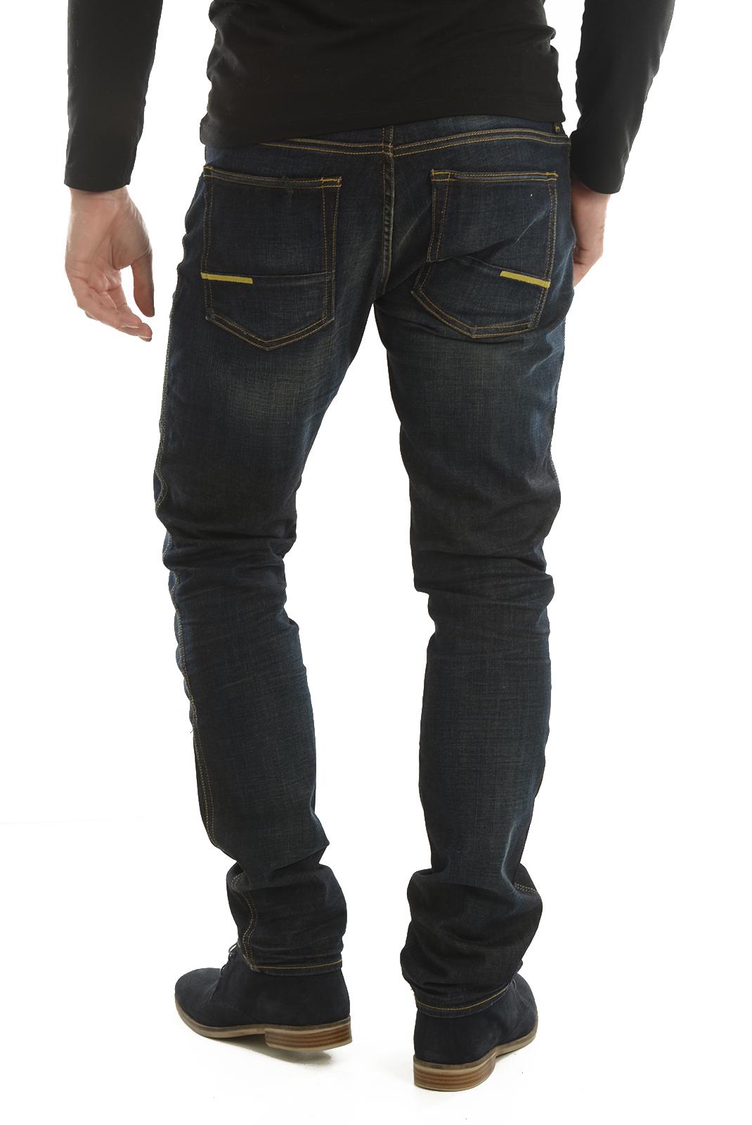 Jeans  Meltin'pot MEVEN D1577 RK187 BF15 BLEU
