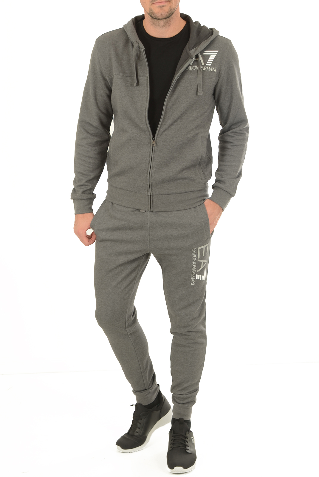 Pantalons sport/streetwear  Emporio armani 6YPP87 PJF3Z 3925 DK GREY MELANGED