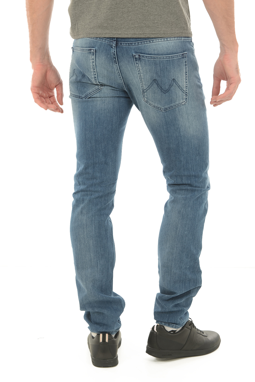 Jeans  Meltin'pot MANER D1316 UK420 BS17  BLEU