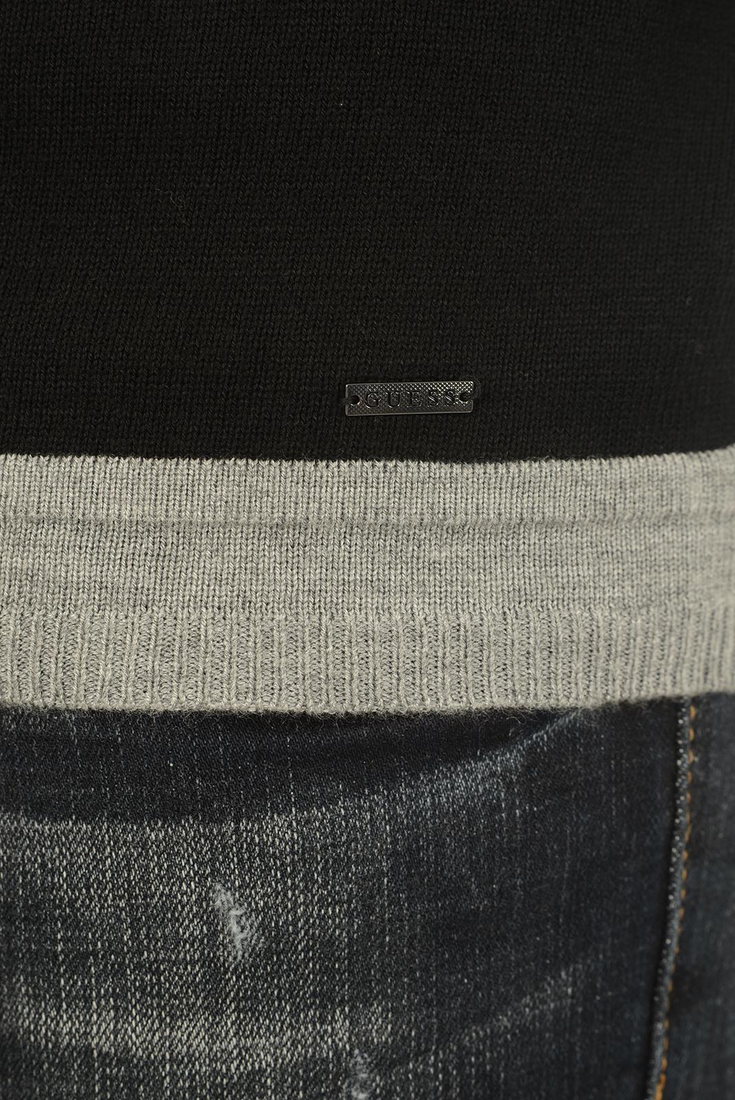 HOMME  Guess jeans M74R48 Z1PM0 FU97 NOIR