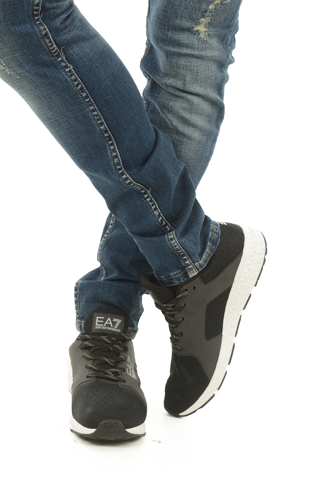 Chaussures   Emporio armani 248019 7A268 020 NOIR