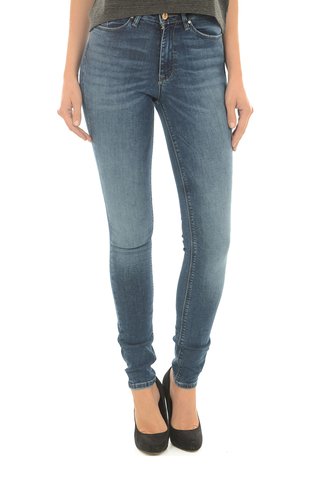 Jeans slim  Only CORIN MID WAIST SK JEANS CRE172475 MEDIUM BLUE DENIM