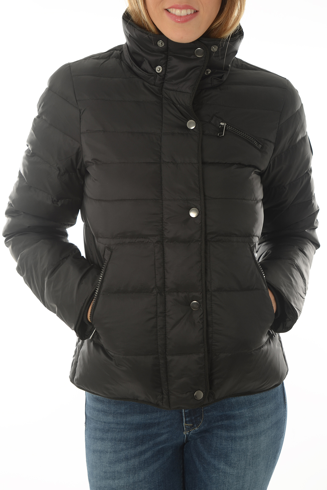 Blouson  Vero moda MARGA SHORT DOWN JACKET BOOS BLACK BEAUTY
