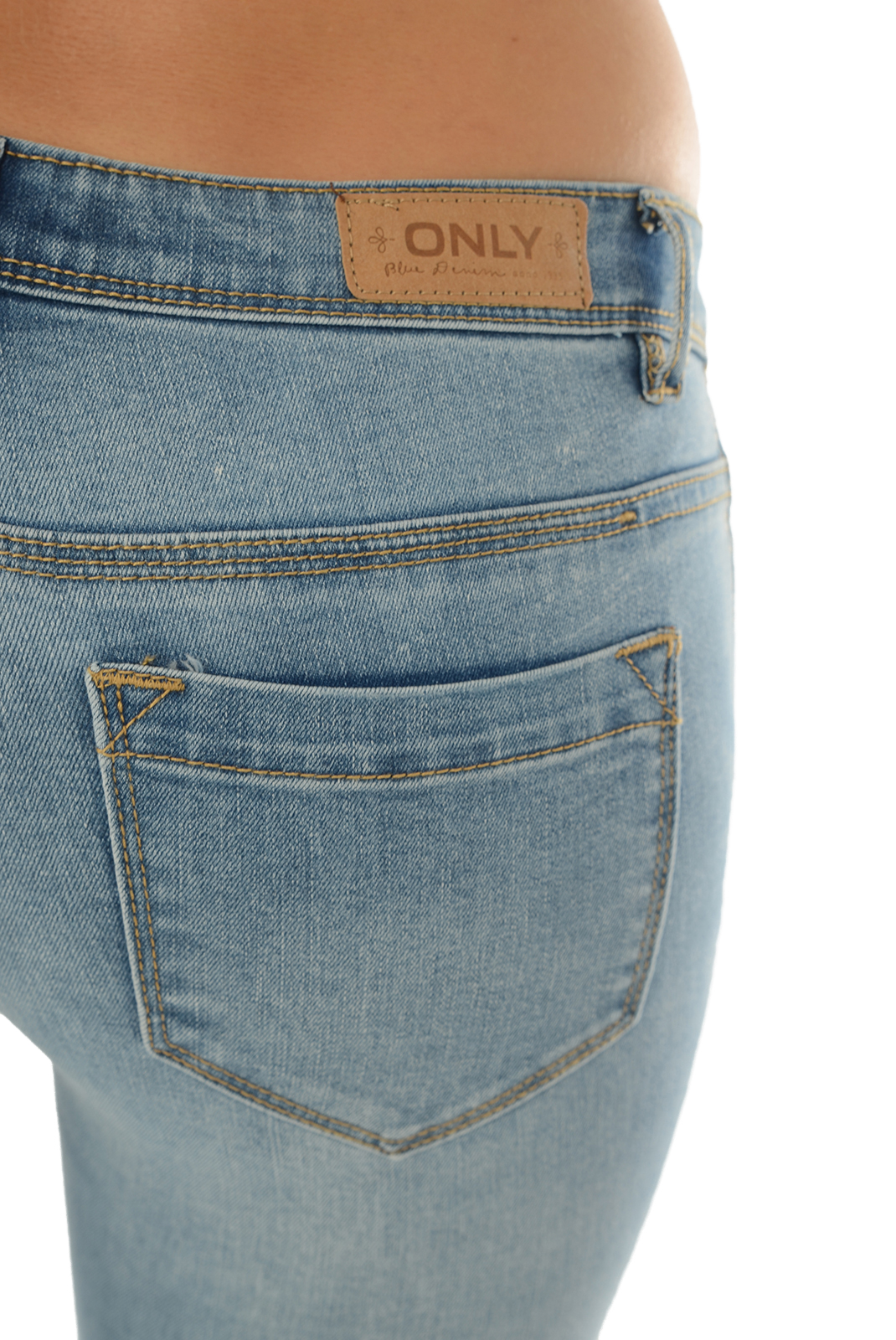 Jeans   Only CORAL SL SK JEANS BJ11049 LIGHT BLUE DENIM