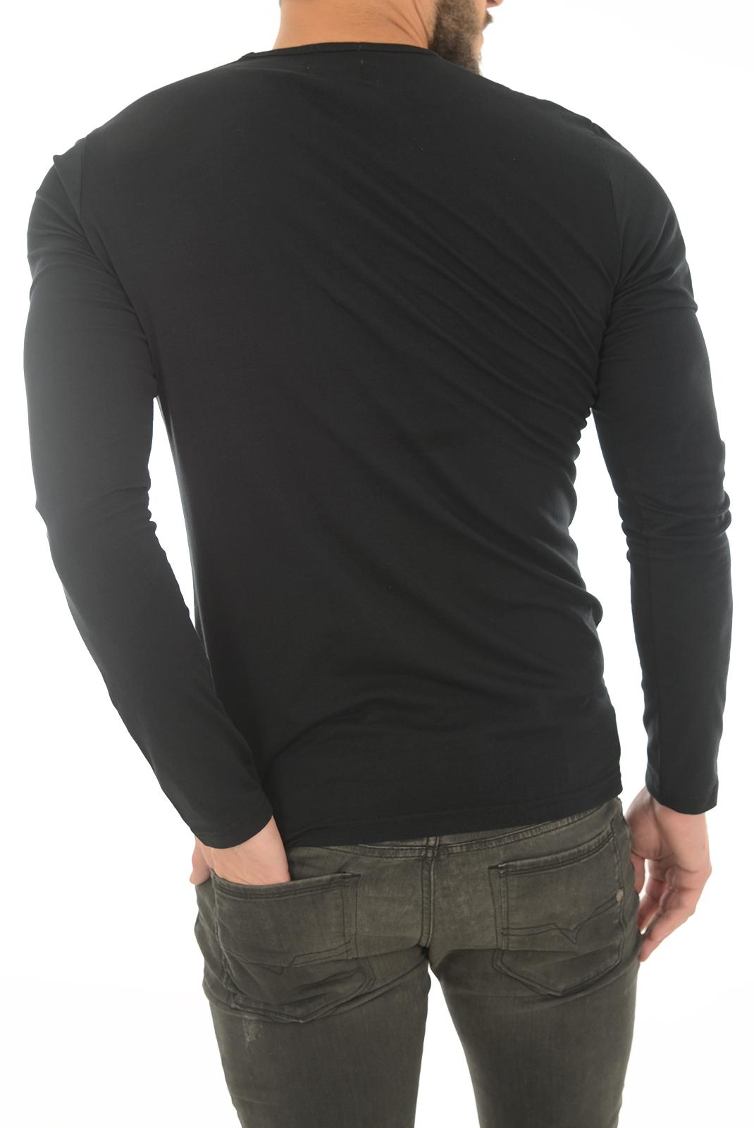 Tee-shirts  Pepe jeans PM503803 ORIGINAL BASIC L/S 999 BLACK