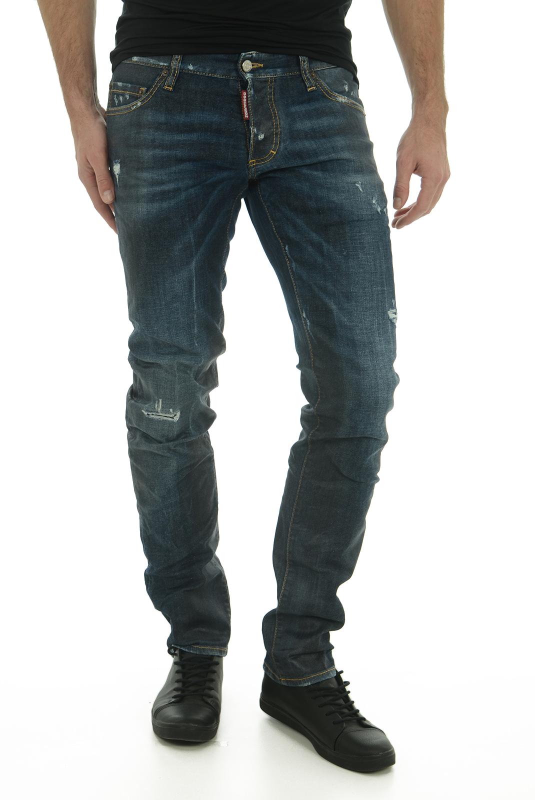 Jean slim / skinny  Dsquared2 S74LB0017 470 INDIGO BLUE