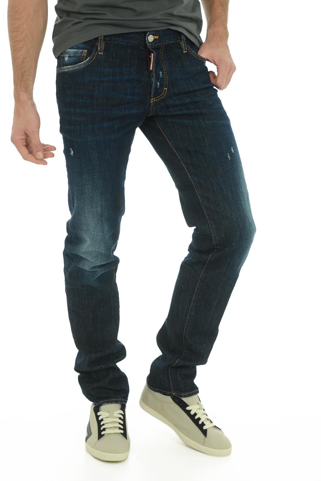 Jean slim / skinny  Dsquared2 S74LB0036 470 INDIGO BLUE
