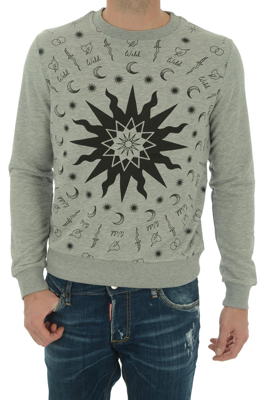 Sweatshirts  John richmond MATINHA W0066 GRIGIO MEL