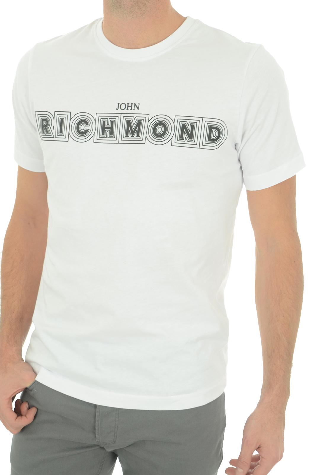 Tee-shirts  John richmond SILVANIA W0019 BLANC