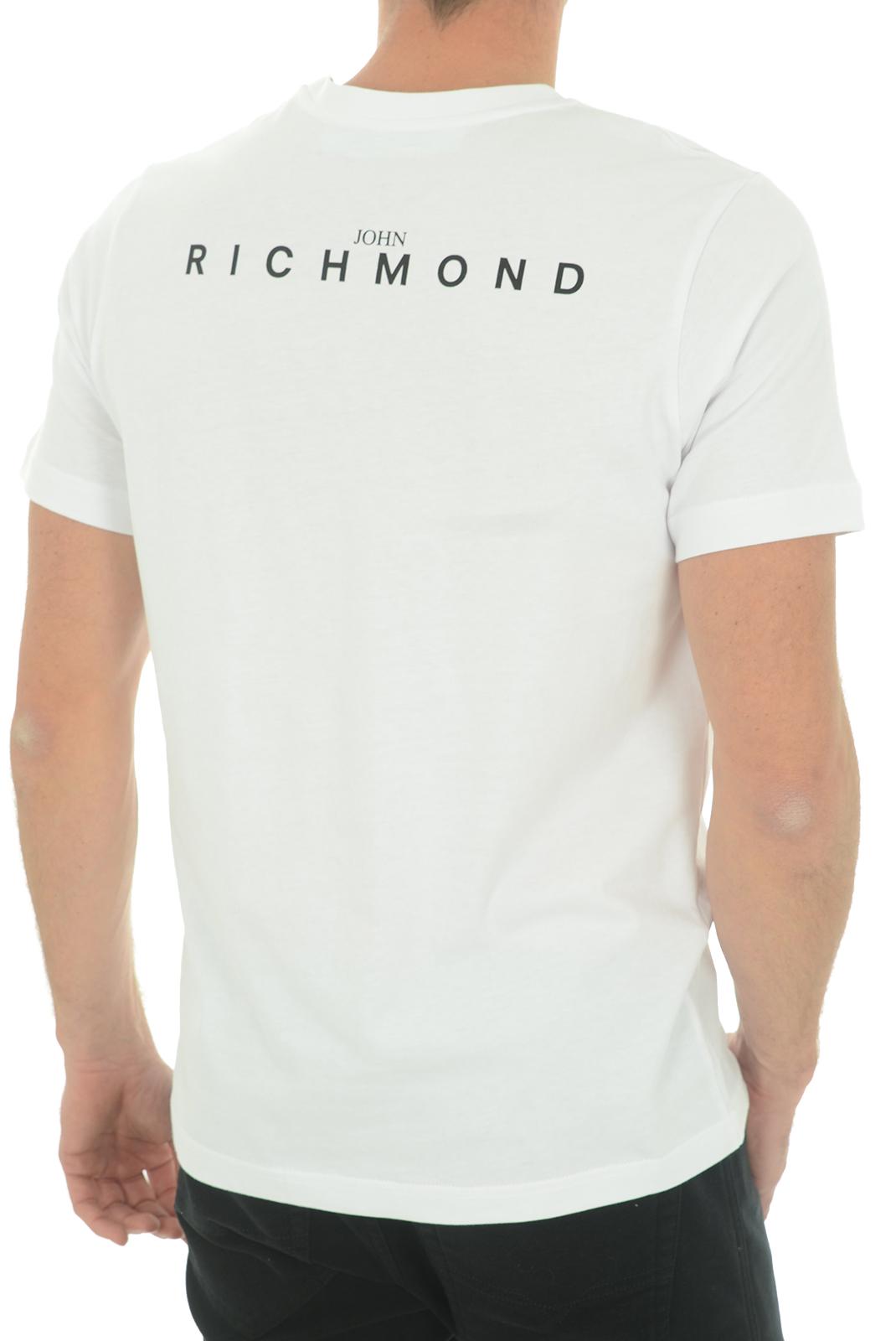 Tee-shirts  John richmond DAMOLANDIA W0019 BLANC
