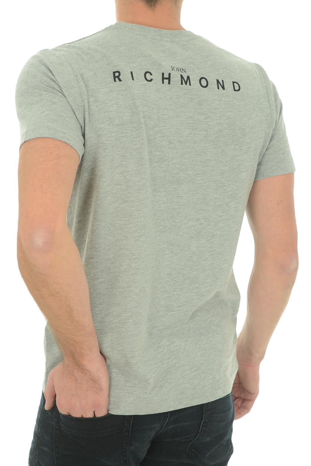 Tee-shirts  John richmond SILVANIA W0066 GRIGIO MEL