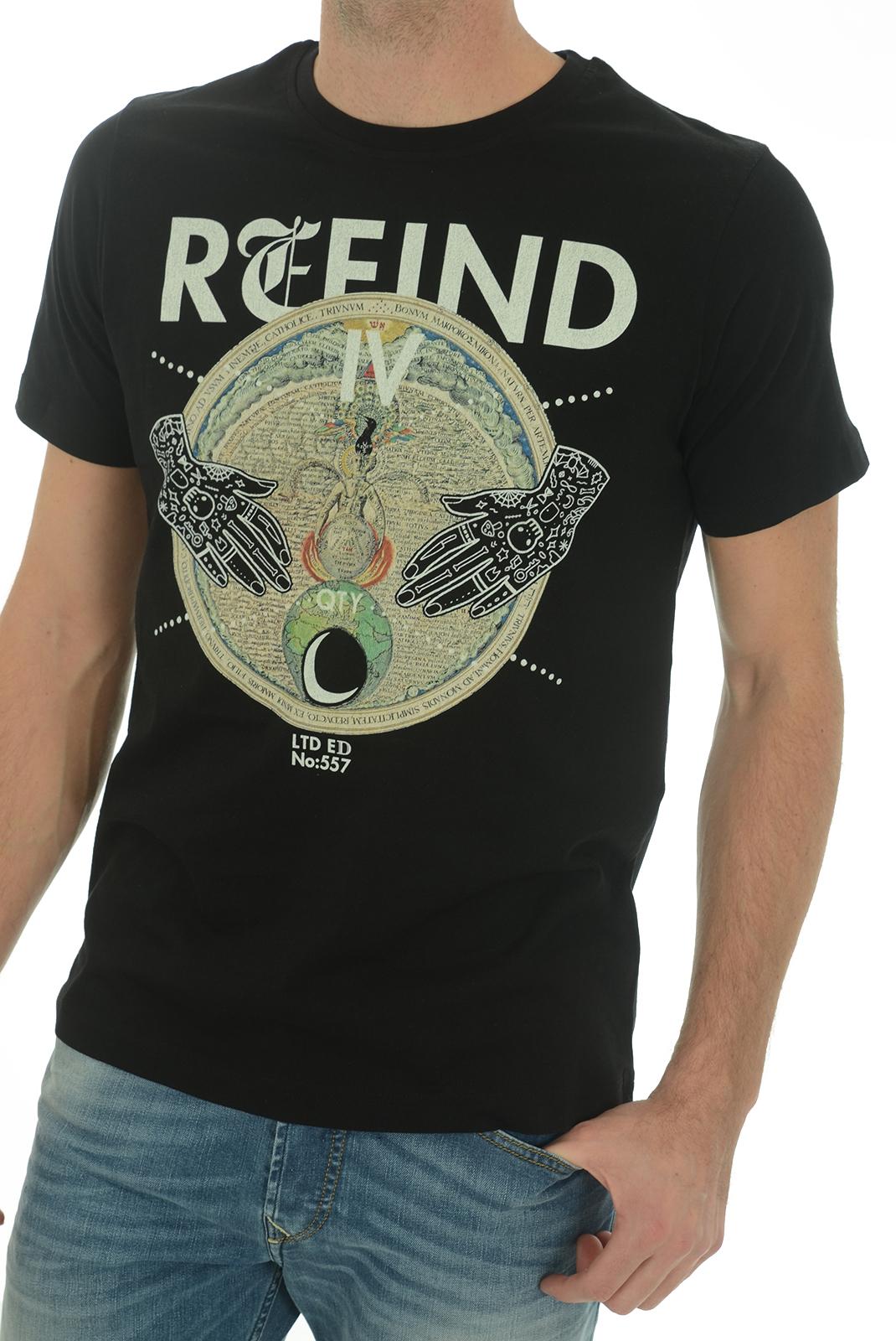 Tee-shirts  John richmond MATTIUSO W0083 NOIR