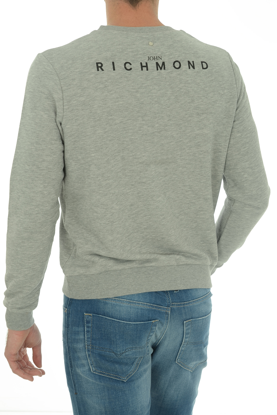 Sweatshirts  John richmond ALTAMIRA W0066 GRIGIO MEL