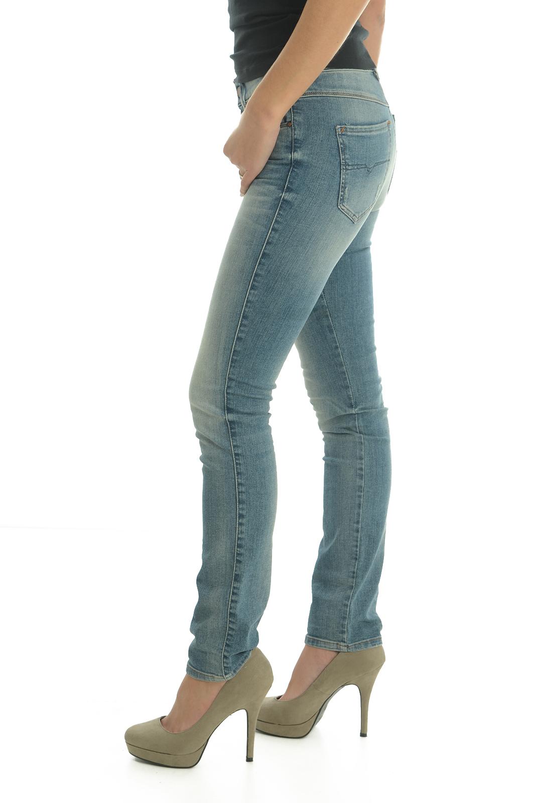 Jeans slim  Diesel SANDY 0675D BLEU