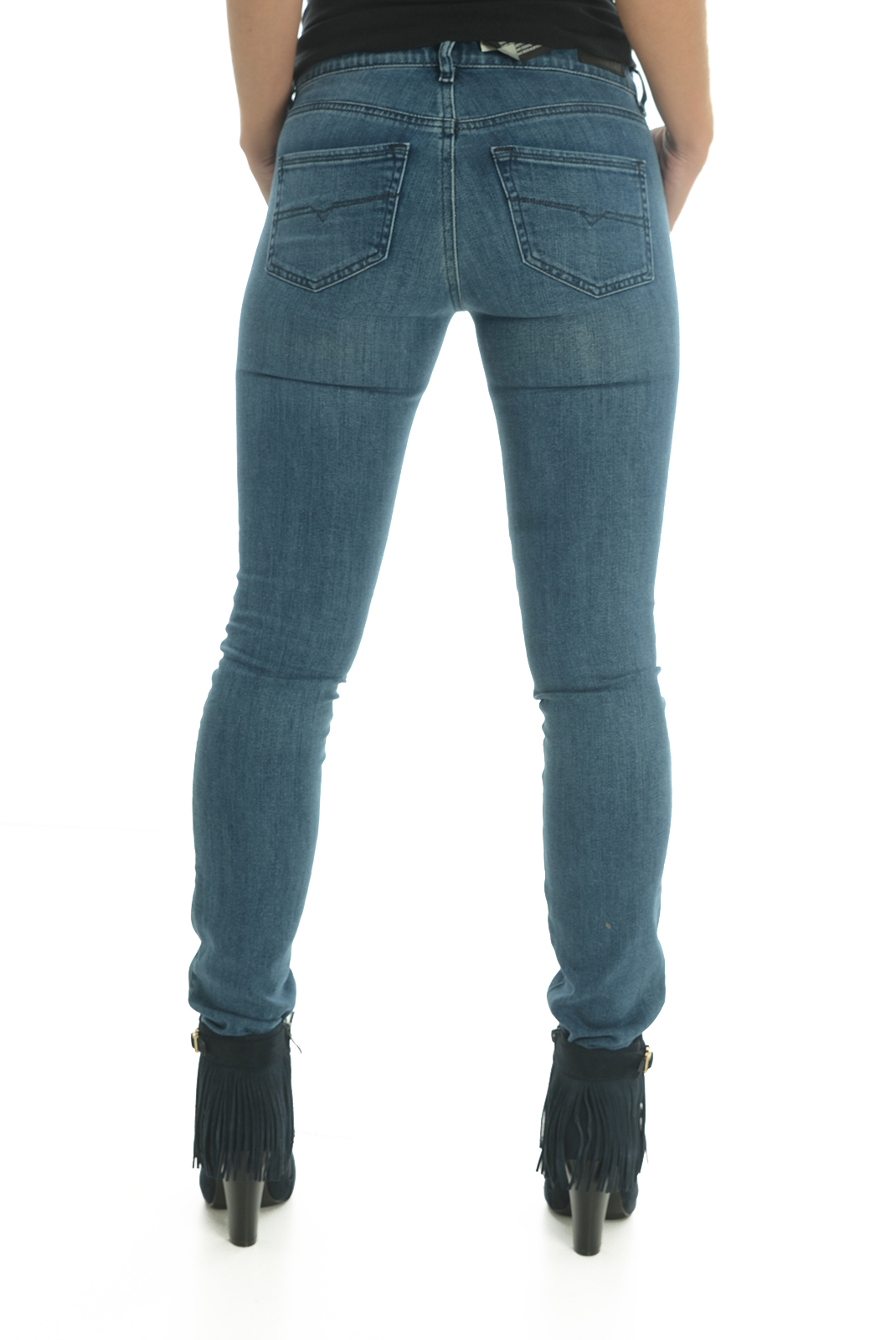 Jeans slim  Diesel DORIS 0841L BLEU