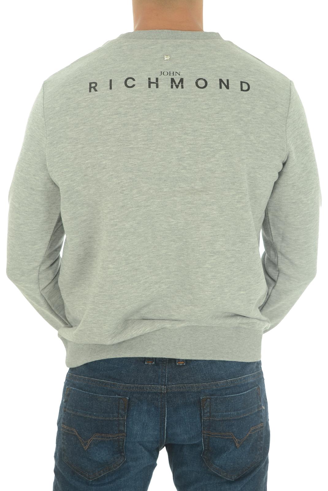 Sweatshirts  John richmond ALOANDIA W0066 GRIGIO MEL