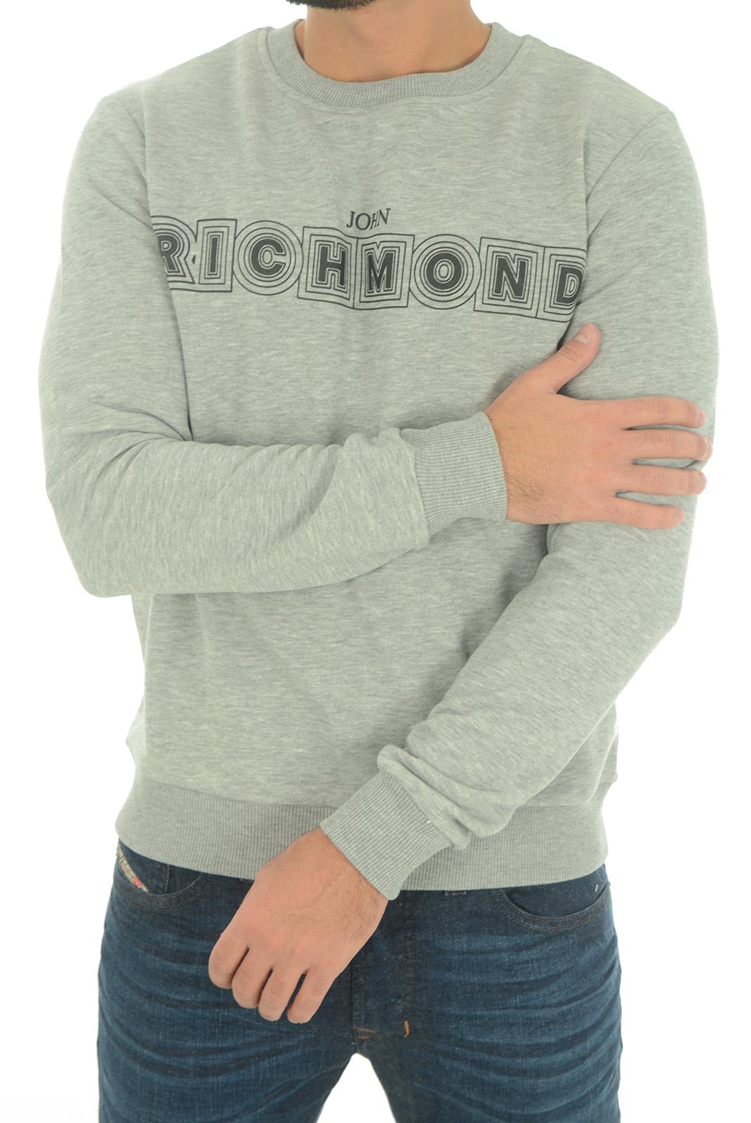 Sweatshirts  John richmond SIDROLAN W0066 GRIGIO MEL