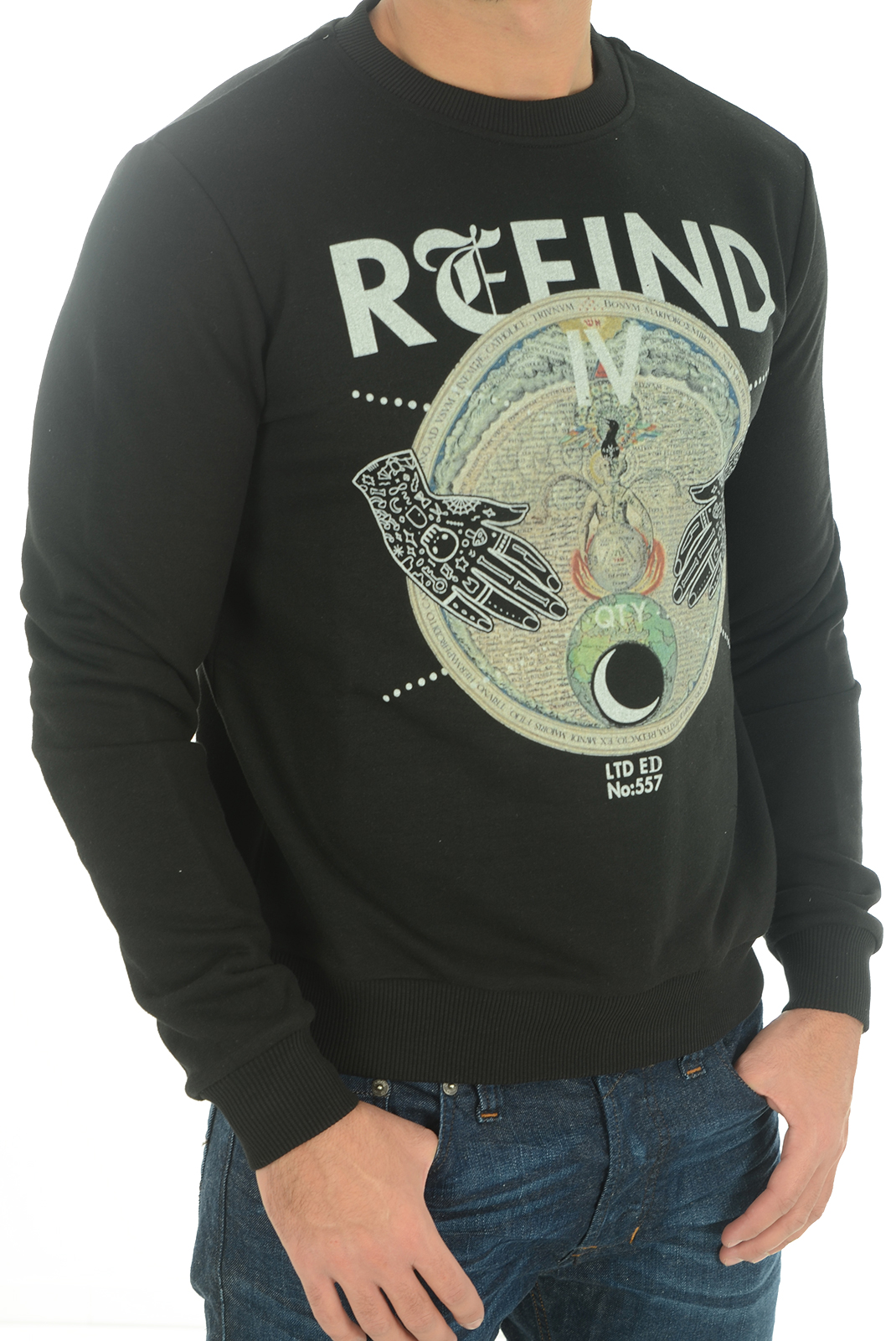 Sweatshirts  John richmond ALTAMIRA W0083 NOIR