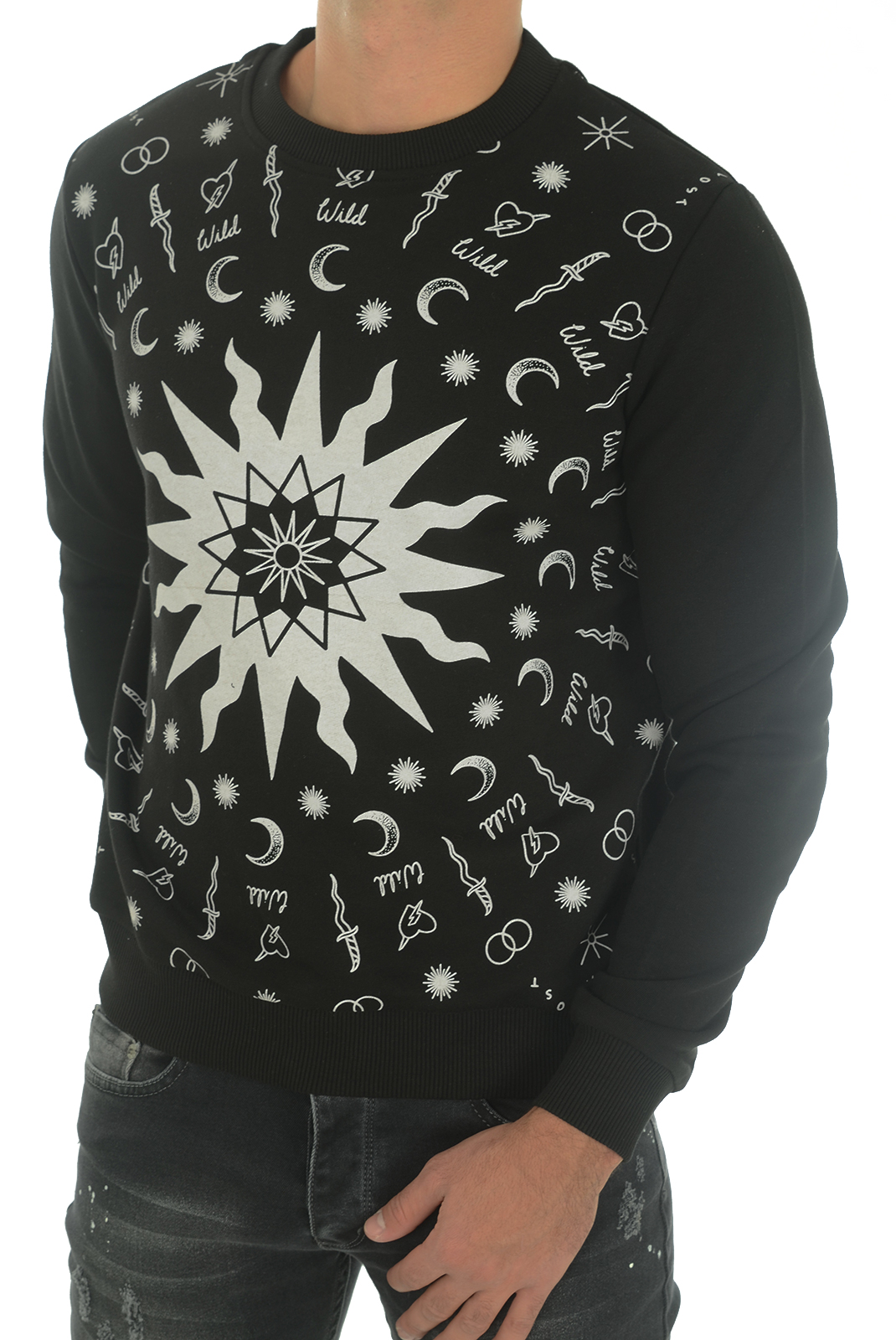 Sweatshirts  John richmond MATINHA W0083 NOIR